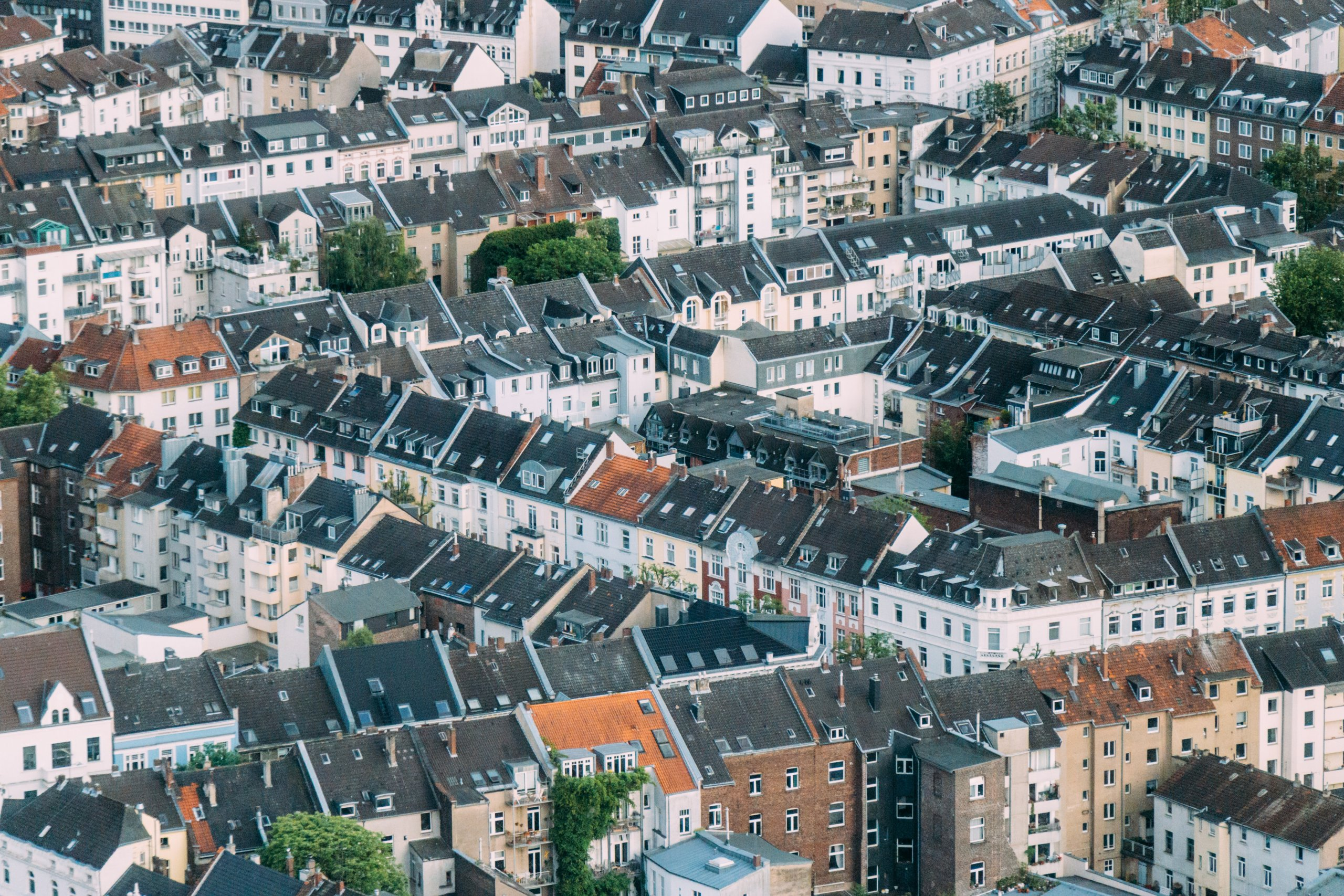 An image of urban houses
